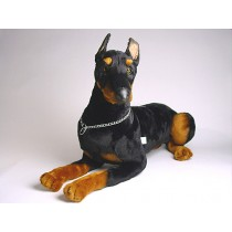 Doberman Pinscher (Reduced Size) 0271 by Piutrè