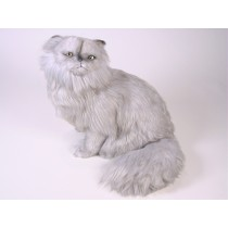 Silver Persian Cat 2424 by Piutrè