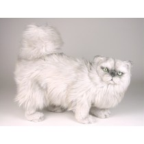 Silver Persian Cat 2436 by Piutrè